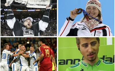 Najväčšie úspechy slovenských športovcov za rok 2014