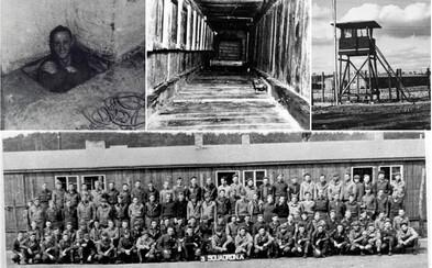 Největší útěky: 76 vězňům se podařilo uprchnout z německého tábora pomocí ručníků, příborů a 1400 plechovek sušeného mléka