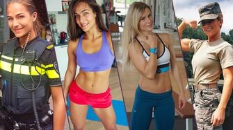 Najviac fit ženy na Instagrame #13: Policajný špeciál