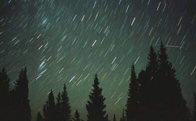 Nejvydatnější meteorický roj vyvrcholí dnes v noci. Vidět by mělo být až 100 meteorů za hodinu