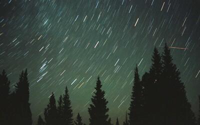Najvýdatnejší meteorický roj vyvrcholí dnes v noci. Vidieť by malo byť až 100 meteorov za hodinu