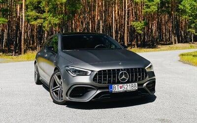Najvýkonnejší štvorvalec na svete nám vyrazil dych. Mercedes-AMG CLA 45 S je doslova kompaktný superšport