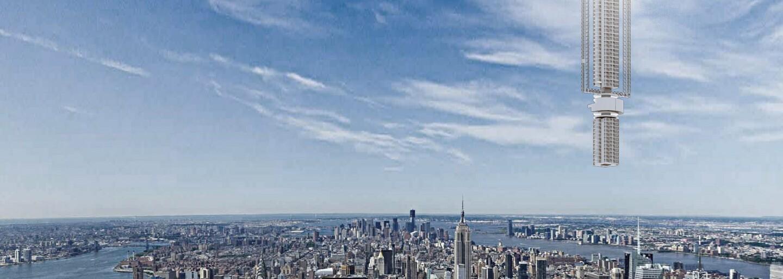 Nejvyšší mrakodrap na světě má být zavěšený na asteroidu. Odvážný nápad amerického studia překoná všechny tvé představy