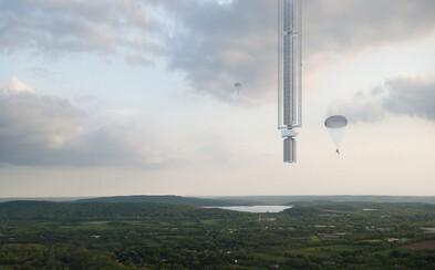Najvyšší mrakodrap na svete má byť zavesený na asteroide. Odvážny nápad amerického štúdia prekoná všetky tvoje predstavy
