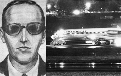 Najzáhadnejšie lúpeže: Tajomný muž, ktorému sa podarilo uniesť lietadlo a navždy zmiznúť s obrovským výkupným