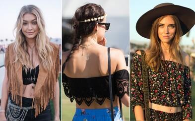 Nejzajímavější dámské Street Style záběry z festivalu Coachella