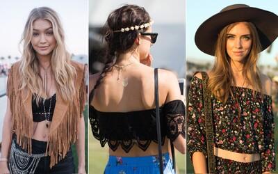 Najzaujímavejšie dámske Street Style zábery z festivalu Coachella