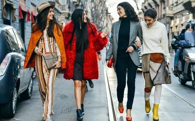 Nejzajímavější Street Style záběry, které nabídlo chladné počasí - dámský speciál