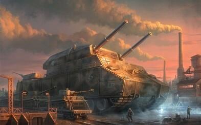 Nejzajímavější tanky druhé světové války: Od hrůzostrašných bestií až po kusy, které zůstaly pouze na papíře