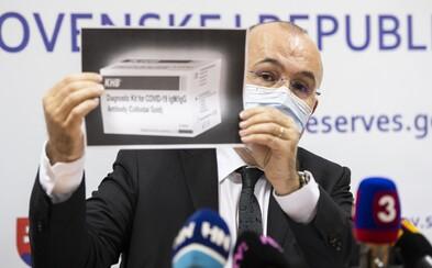 NAKA vyšetruje podozrivé zmluvy Štátnych hmotných rezerv na zdravotnícke prostriedky. Podozrieva ich šéfa Kajetána Kičuru