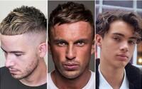 Nakrátko sestřižená ofina je největším letním trendem ve světě účesů. Nezahálejí však ani vlnité vlasy nebo oblíbený skin fade