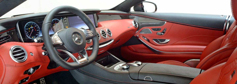 Naložený Brabus 850 jako brutálně upravený Mercedes-Benz S 63 AMG Coupé