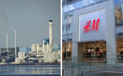 Namísto fosilních paliv spalují Švédi oblečení z H&M. Neprodejné kousky se mění v alternativní palivo