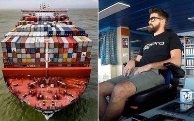 Námořník Igor: Vozíme náklad za víc než 15 milionů eur, v každém přístavu na muže čeká nová žena (Rozhovor)