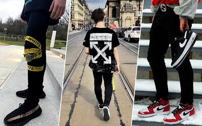Nap*ču Flex: Hadry OFF-WHITE, Supreme nebo tenisky Yeezy a Balenciaga jako svaté grály české mládeže