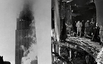 Náraz letadla do Empire State Building: Žena přežila téměř 80patrový pád ve výtahu a stala se rekordmankou