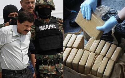 Narkobaron El Chapo vydělal 500 000 000 dolarů díky drogovému vlaku. Z Mexika jezdil přímo do New Yorku