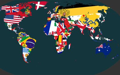 Náročné hádání vlajek, které dá zabrat i těm nejzkušenějším. Důležitou roli hraje každý detail