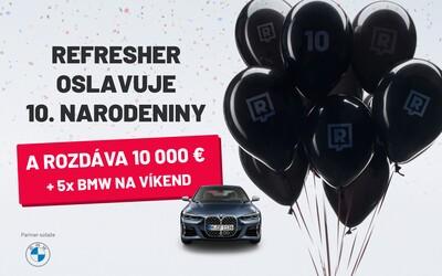Narodeninová súťaž: každý týždeň môžeš vyhrať 2 000 eur a BMW radu 4 Coupé na víkend