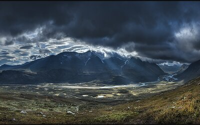 Národní park Sarek a jeho krásy