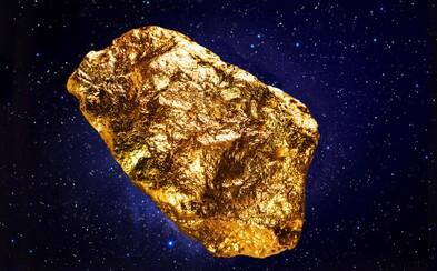 NASA chce z asteroidu vyťažiť zlato v hodnote 600 triliónov eur