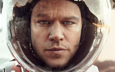 NASA hlásí, že Matt Damon je mrtvý, on je však Marťan a rozhodl se přežít na mrtvé planetě
