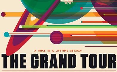 NASA nabízí zdarma ke stažení nádherné retro plakáty vesmírných misí