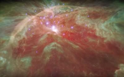 NASA potěšila milovníky vesmíru. Fascinující video ukazuje, jak by vypadal průlet mlhovinou Orion