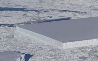 NASA úplnou náhodou našla dokonalý ľadovec, ktorý vyzerá, ako keby ho niekto odrezal