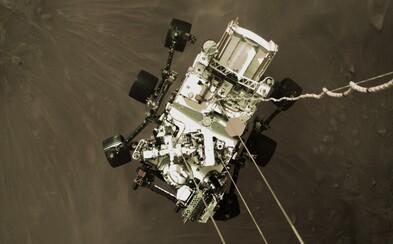 NASA zverejnila nové fotky z Marsu. Nasnímalo ich robotické vozidlo Perseverance