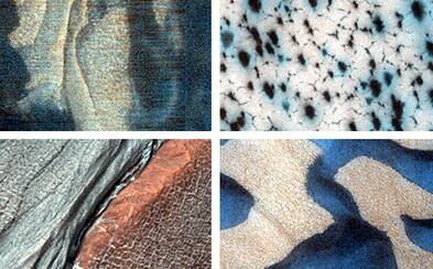 NASA zverejnila viac než 1000 fotografií pestrého povrchu Marsu