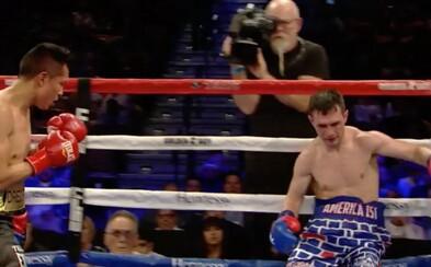 Americký boxer si nasadil trenky s pohraniční zdí, ale Mexičan ho pořádně zmlátil