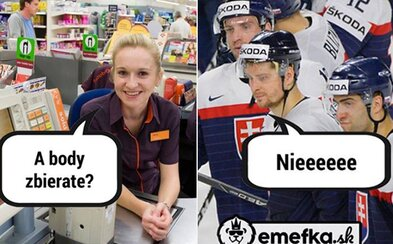 Naši hokejisti na majstrovstvách síce veľa vody nenamútili, ale slovenské internety sa poriadne zabavili. Vtipné obrázky aspoň napravili dojem