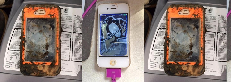 Našiel iPhone na dne predtým zamrznutého jazera a zistil, že ešte stále funguje. Vypátrať sa mu podarilo aj pôvodného majiteľa