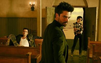 Násilný a nebezpečný Preacher predstavuje všetky dôležité postavy prostredníctvom nesmierne štýlového traileru