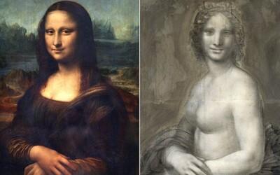 Našla sa nahá verzia Mony Lízy. Leonardo da Vinci zanechal okrem slávneho obrazu ešte jednu maľbu tajomnej ženy