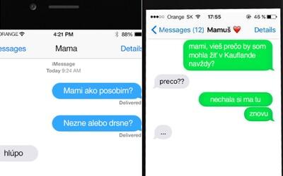 Našli sa aj vo vašich mobiloch. Tu je výber najvtipnejších SMS konverzácií s našimi rodičmi