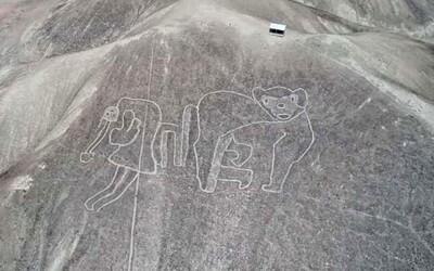 Našlo sa 50 nových obrazcov Nazca. Archeológovia zo vzduchu spozorovali tvary, ktoré zo zeme nevidno