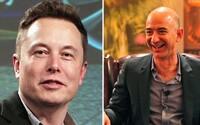Nastal čas rozložit Amazon, prohlásil Elon Musk. V konfliktu s nejbohatším mužem světa Bezosem přilil olej do ohně