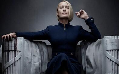 Nastal koniec vlády bielych mužov v strednom veku, hlási Claire Underwood v traileri pre záverečnú sériu House of Cards