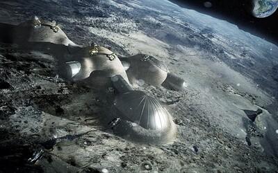 Nastává kolonizace Měsíce? ESA plánuje postavit základnu na povrchu Luny pomocí 3D tisku