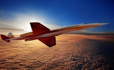 Nástup luxusního nadzvukového letadla, které umožní rychlé přesuny do všech koutu světa, se pomalu blíží
