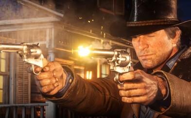 Nástupca GTA V od Rockstaru sa odohráva na divokom západe. Sledujte skvelý akčný trailer pre Red Dead Redemption 2