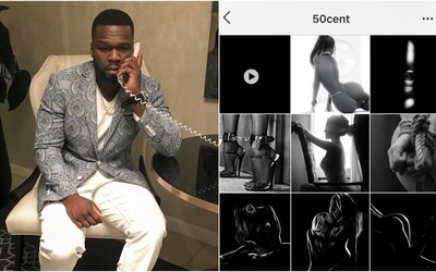 Naštvaný 50 Cent skončil s Instagramem poté, co mu zablokoval nevhodný obsah. Teď z trucu přidává sadomaso fotky