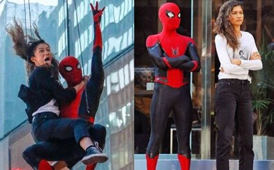 Natáčení Spider-Mana bylo zábavné i adrenalinové. Tom Holland zdraví fanoušky a posílá film do střižny