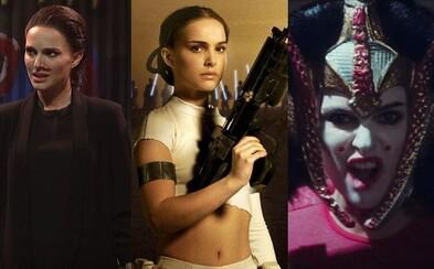 Natalie Portman rapuje o prequeloch Star Wars a napodobňuje Eleven zo Stranger Things