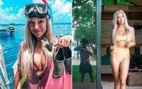 Natalie vyhrála dovolenou za 25 000 dolarů, přítele nechala doma a strávila ji s cizím mužem