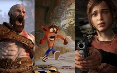Návrat Crashe Bandicoota, The Last of Us 2 či God of War 4. Sony chystá pro PS4 neuvěřitelné množství velkolepých her!