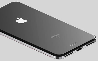 Návrat ke klasice? Nádherný koncept iPhone 8 ukazuje displej bez rámečků, zaoblené sklo a kovový rám