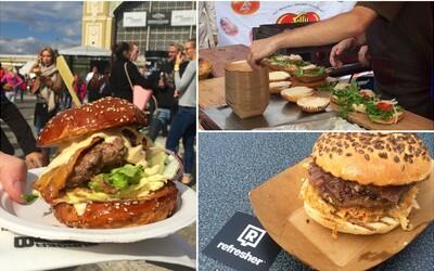 Navštívili jsme největší burgerový festival střední Evropy. Jak to vypadalo na Burger Festu 2015 v Praze?